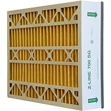 Glasfloss Industries HWP16254M112PK Z-Line Series 400 HW MERV 11 Air Cleaner Replacement Filter Option 2-Case