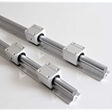 6 Pcs 8 mm WC8-770mm Cylinder Liner Rail Linear optical axis Liner Rod