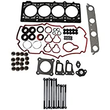 ROADFAR Timing Chain Kit Head Gasket Set with Water Pump for Ford E-150 Econoline 4.6L 1997-1999
