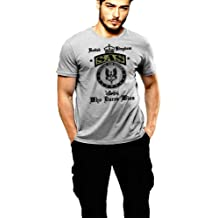 USMC Scout Sniper T-shirt US Marines 0317 Grey T-shirt By Warface Apparel