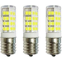 5 -Bulbs 50 Watt JD Type BA15D 50W DC Bayonet Base T4 Halogen Light Bulb Clear 50Watts Anyray A1782Y