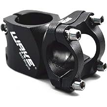 BMX MTN MTB Stem 31.8 Stem 60mm 70mm 90mm 25 Degree Wake Mountain Bike Stem Short Handlebar Stem for Most Bicycle Aluminum Alloy, Black Cycling Fixie Gear Road Bike