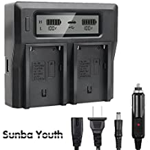 Battery Charger US Plug For Sony NP-F550//570//750//960//970 Viltrox DC-70 Monitor
