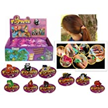 Collectible Wearable Floppets Charm Rings RETAIL BOX of 36 ~ Connectable