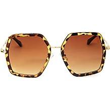 98ba1b1ff GAMT Oversized Square Sunglasses Women Vintage UV Protection irregular  Shades