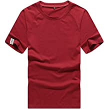 KLGDA Mens Athletic Shirts Classic Fit Casual Short Sleeves Athletic Tshirt Training Quick-Dry Slim Fit Top