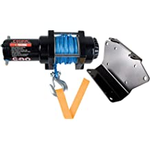 New Warn VRX 3500 lb Winch With Synthetic Rope /& Model Specific Mount 2014-2018 Polaris RZR XP 1000 EPS LE UTV