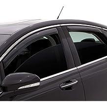 Fit 2005-2016 Toyota Tacoma Window Visor Rain Guard Moon Sun roof Double Cab