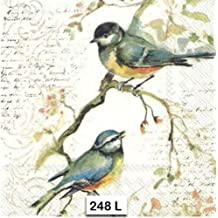 313 Wild Pheasant Fowl Birds Two Individual Paper Luncheon Decoupage Napkins