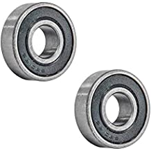 Outer Hub Bearing for 150c 9.030.010-2Z 250cc 9.030.010-Z 300cc 2 Hammerhead Bearing 6202-Z 9.030.010 replaces 62022RS0000000,14149 Inner Front Bearing For Mudhead 208R and Mid Size Gokarts