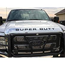 BDTrims Tailgate Raised Letters Compatible with 2014-2020 Tundra Models Matte Black