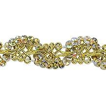 20-Yard Red Expo International Trish Sequin Metallic Braid Trim Embellishment