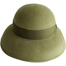 2f494d0c73add0 Women's Gatsby Linen Cloche Hat With Lace Band and Flower