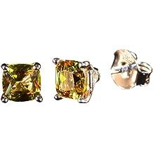 82a455afc Tingle Alexandrite Earrings Fine Jewelry For Women Silver Stud Earrings  Changing Color Gem Unique Rock Gothic Earrings Cuff Earrings Opal .