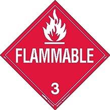 Labelmaster ZEZ52811 UN 2811 Toxic//Poison Hazmat Placard Pack of 25 E-Z Removable Vinyl