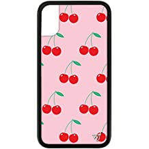 f9ab2716dc88 Wildflower Limited Edition iPhone Case for iPhone X and XS (Pink Cherries)