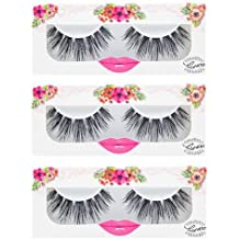 e8c4045de22 LashXO Lashes- Venus Vibe-3 PK Premium Quality False Eyelashes- Compare to  brand