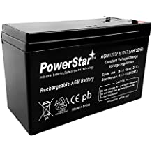 Replacement Battery Compatible with The Opti-UPS TS500//500TS 12V 7Ah F2