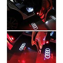 OTUAYAUTO Projector Light Logo Light Car Shadow Light 4pcs Car Door light