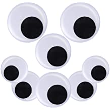 DIYASY 7.5 Inches Large Googly Eyes 2 Pieces Giant Wiggle Eyes for Decorations