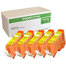 Inkjetcorner Compatible Ink Cartridges Replacement for PGI-220 CLI-221 for use with iP3600 iP4600 MP560 MP640 MX860 MX870 40 Pack