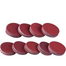 Utoolmart 10inch 250mm Disc Sandpaper With Adhesive Back Aluminium Oxide 2000 Grit Sanding Disc Sander Paper For Metalworking Tools 10pcs