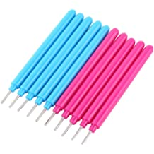 Blue Sizet Paper Quilling Pen DIY Slotted Paper Quilling Tools Paper Craft Tools Accessories