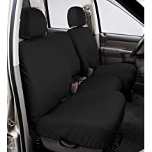 Covercraft SS2427PCGY SeatSaver Front Row Custom Fit Seat Cover for Select Cadillac//Chevrolet//GMC Models Polycotton Grey