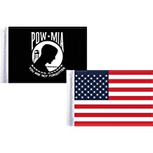 Pro Pad Sleeved 6 by 9-inch NAVY SUBMARINE Motorcycle Flag