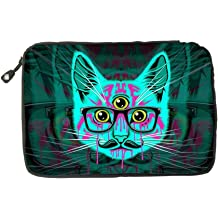 Electronic Accessories Travel Bag Galaxy Hipster Cat USB Flash Drive Case Bag Wallet SD Memory Cards Cable Organizer