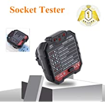 Office Available. Socket Tester Maserfaliw BSIDE AST01 Power Socket Tester Outlet Circuit Detector Wall Plug Breaker Finder BlackUS Plug Home Must-Have Holiday Gifts