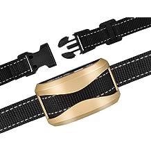 e856d13a91ec0 GEEDIAR Bark Collar, Dog No Bark Collars Vibration No Harm Shock Collar -  USB Rechargeable Humane Anti Bark Training Collar - Stop Barking .