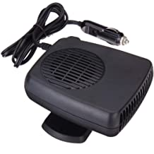 qiguch66 Portable Handheld Personal Heater Mini Home Office Handheld Energy Saving Air Heating Electric Fan Heater Warmer,Ideal for The Desk or Around The Home Office BlackUS Plug