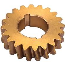 B=8mm E=25.7mm S=14.5mm Bevel gear made of die-cast zinc ZnAl4Cu1 module 1.5 16 teeth i=1:1 b=6.7mm