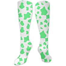 Cactus Icon Green Mens Dress Socks Fashionable Athletic Socks 15.7