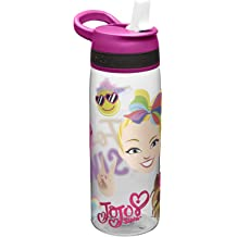 82de6ee6e32 Zak Designs Jojo Siwa Kids Water Bottle with Straw and Built in Carrying  Loop, Durable Water Bottle Has Wide Mouth and Break Resistant Design .
