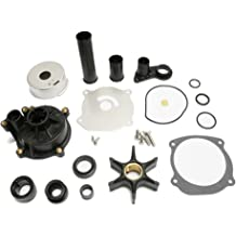 New Johnson Evinrude OEM Outboard Water Pump Kit 763758 BRP//OMC w Housing