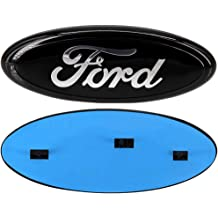Black 11-14 Edge Guzetop For Ford 9inch Front Tailgate Emblem,Oval Decal Badge Nameplate for 04-14 F150 F250 F350 11-16 Explorer 06-11 Ranger