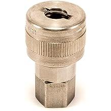 NPT Dixon 2 Steel Straight Through Female Plug STFP16