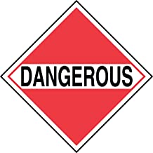 10-3//4 Width x 10-3//4 Length Accuform MPL403CT10 PF-Cardstock Hazard Class 4 DOT Placard Black on White//Red Pack of 10 LegendSPONTANEOUSLY COMBUSTIBLE 4 with Graphic