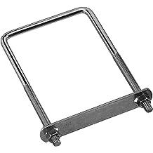 10 pack National Hardware N347-369 2190 U Bolt in Zinc plated