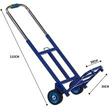 Color : Black, Size : No Bag WZL Trolley Trolley Trolley Car Folding Portable Trolley Car Aluminum Alloy Push Car Heavy King Trailer Handling Shopping Cart