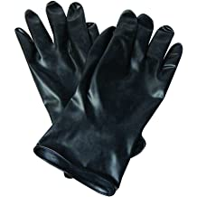 Size 10 RWS-57031 North by Honeywell Nitri-Knit 12 Supported Chemical-Resistant Nitrile Gloves with Interlock Liner