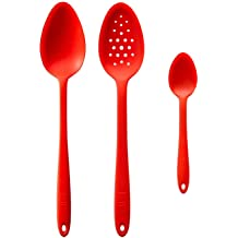 Navy 13 GIR Get It Right GIRSNH316NVY Premium Silicone Ultimate Perforated Spoon