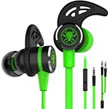 Blue Karooch Gaming Headset 3.5mm Over-Ear Headphone Microphone Professional Noise Reduction of Game Headset Compatible with N-Switch Playststion PS4 N-Switch Lite PC Tablet