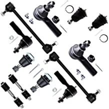 SCITOO 12PC Control Arm Ball Joint Tie Rod Ends Sway Bar Pitman Idler Arms Kits fit Ford Expedition F150 F250 1998-2002