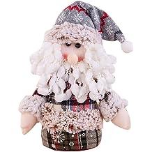 Yuege Christmas Decoration Handmade Swedish Tomte Santa Scandinavian Gnome Plush Christmas Home Decoration Collectible Figurines Window Display