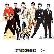 Star Cutouts SC574 Official Cardboard Cutout of Elvis Jailhouse Rocks