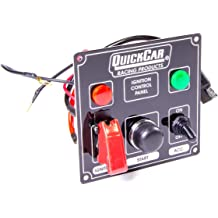 Quickcar Racing Products 50-864 Ignition Panel Blk Fusedw//Start But /& Lights