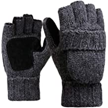 Black FunDiscount Kids Boy Girl Winter Gloves Toddler Waterproof Ski Snowboard Snow Gloves Breathable Thinsulate Lined Cold Weather Mittens Non Slip Outdoor Recreation Mitts for 1-3 Years Old Kids
